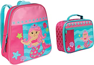 Stephen Joseph Mermaid Backpack and Lunch Box