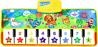 Piano Musical Mat,Giant Educational Pre-Kindergarten Toys,15 Keys Keyboard Floor Mat