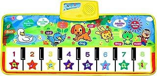 Piano Musical Mat,Giant Educational Pre-Kindergarten Toys,15 Keys Keyboard Floor Mat