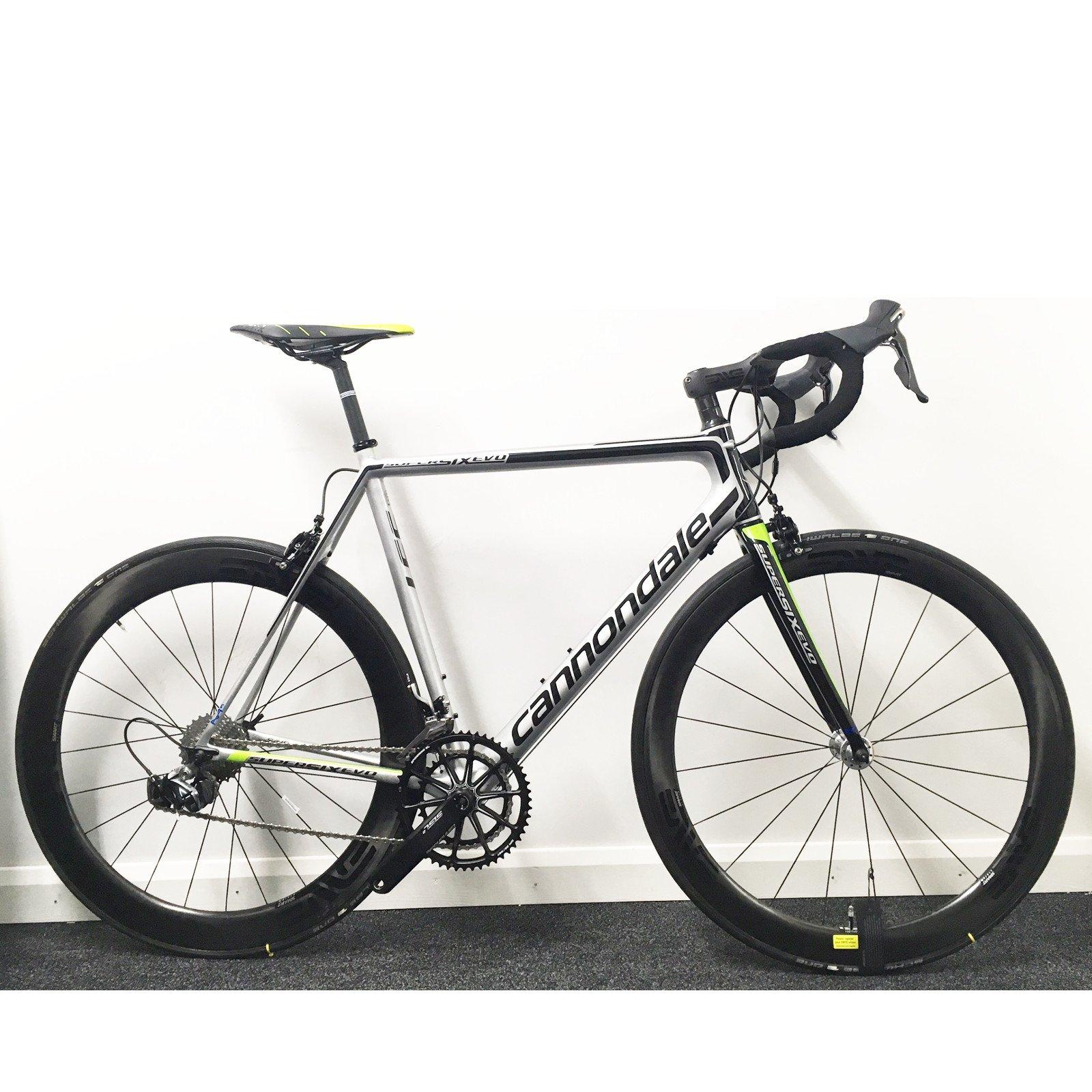 Cannondale – Super 6 Evo hi-mod carbono negro INC. 2016 bicicleta ...