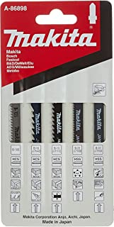 Sponsored Ad – Makita A-86898 Universal Fitting Jigsaw Blades - Selection Pack