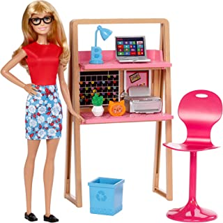 Barbie Office & Doll