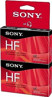 Sony C60HFR/2 60 Minute HF Audio Tape (Hang Tab)