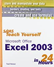 Sams Teach Yourself Microsoft Office Excel 2003 in 24 Hours (Sams Teach Yourself in 24 Hours)