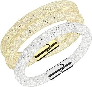 Bracelets Set Stardust Double Golden/Single Clear Medium #5184499