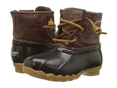 Sperry Kids Saltwater Boot (Toddler/Little Kid) (Brown/Brown) Kids Shoes