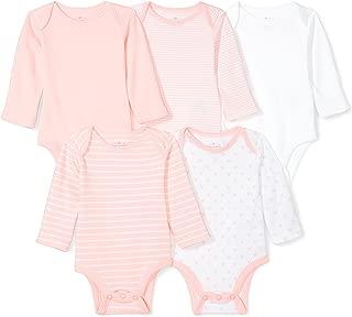 Baby Set of 5 Organic Long-Sleeve Bodysuits