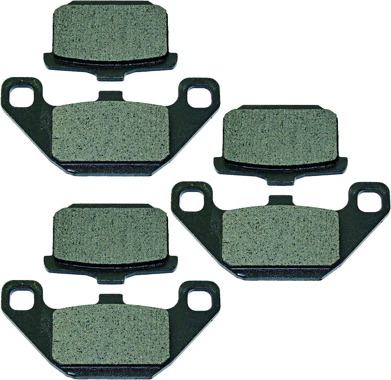 Caltric compatible Max 50% OFF with Front Rear Z shipfree Brake Zn700 Kawasaki Pads