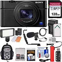 $1329 » Sony Cyber-Shot DSC-RX100 VII 4K Wi-Fi Digital Camera with 128GB Card + Battery & Charger + Backpack + Hand Grip + Video Light + Microphone Kit