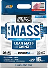 Applied Nutrition Critical Mass Drink Protein Protein Carbohydrate Weight Gainer 6000g Strawberry Strawberry Estimated Price : £ 57,96