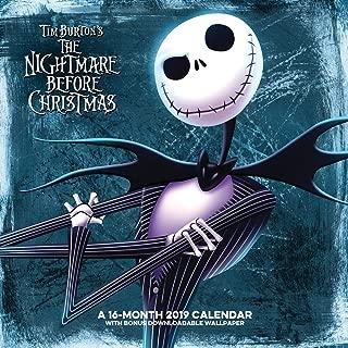 The Nightmare Before Christmas Wall Calendar (2019)