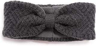 Muk Luks Women's Crosshatch Headband, Grey Heather, OSFM