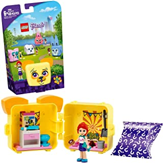 LEGO Friends Mia's Pug Cube 41664 Building Kit; Pug Toy Creative Gift for Kids with a Mia Mini-Doll Toy; Dog Toy is The Pe...