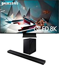 "$3595 » Samsung QN65Q800TA 65"" QLED 8K Quantum Ultra High Definition Smart TV with a Samsung HW-Q60T Wireless 5.1 Channel Soundbar and Bluetooth Subwoofer (2020)"