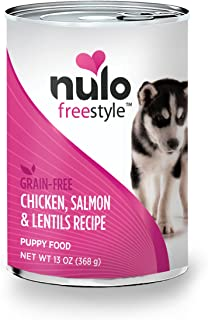 Nulo Adult & Puppy Grain Free Canned Wet Dog Food, 13 oz, Case of 12