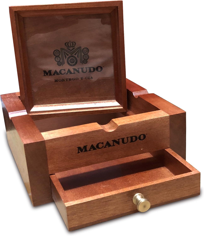 Macanudo Wooden Stash Box Ashtray 2021 new Max 60% OFF