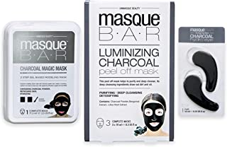 Masque Bar – Luminizing Charcoal Facial Masking Kit – Korean Skin Care