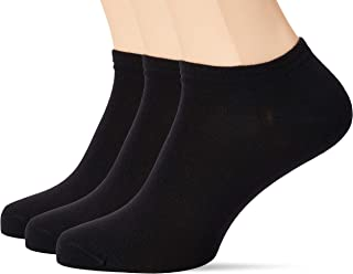 Dim, Algodón Tobilleros Calcetines (Pack de 3) para Hombre