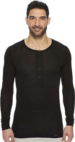 Hanro - Light Merino Long Sleeve Shirt