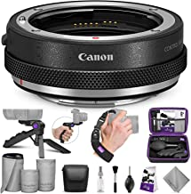 Canon Control Ring Mount Adapter EF-EOS R with Altura Photo Essential Accessory Bundle