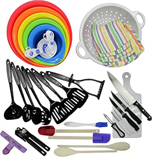 Chef Craft 42068 41-Piece My First Kitchen Tool and Gadget Set, Multicolor