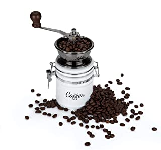 Country Cottage Ceramic Coffee Grinder by Twine
