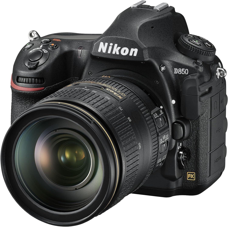Nikon D850 Finally resale start FX-format Digital SLR Camera w Body Indianapolis Mall AF-S 24-1 NIKKOR
