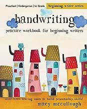 Handwriting Practice Workbook for Beginning Writers