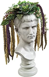 Design Toscano Bust Planter of Antiquity Statue