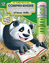 Comprehensive Curriculum of Basic Skills Workbook for Grade 3, Paperback, 544 Pages, Ages 8–9