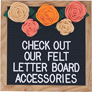 Felt Letter Board Accessories (The Sunset) – Letter Board Flower Decorations Perfect for Baby Photo Props and Party Decor Works with All Changeable Message and Letterboards! (Accessory Kit Only!)