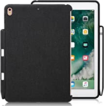KHOMO - Compatible with iPad Pro 9.7 inch Back Cover - Companion Cover - with Pen Holder - Perfect Match for Smart Keyboard