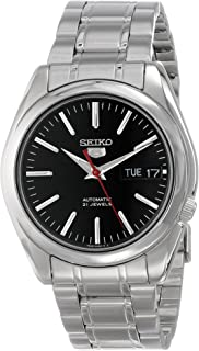 Seiko Men's SNKL45 Stainless Steel Automatic Watch