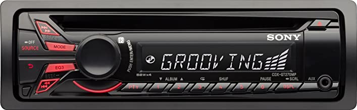 Sony CDXGT270MP CD/MP3 Car Stereo Receiver with Front Aux Input (Discontinued by Manufacturer)