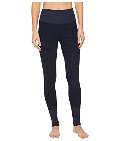 ALO High Waist Lounge Leggings (Rich Navy Heather) Women