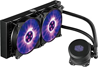 Cooler Master MasterLiquid ML240L RGB AIO CPU Liquid Cooler '240mm Radiator, All-in-One, Dual Dissipation Pump' MLW-D24M-A20PC-R1