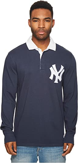 Levi's® Mens NY Yankees LSC Rugby Solid Shirt