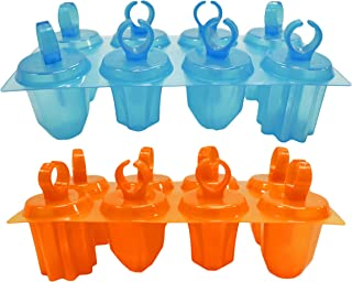 Set of Ice Pop Jewel Ring Molds Perfect for Parties Sleepovers Movie Night - Fun to Use Easy to Clean (2)