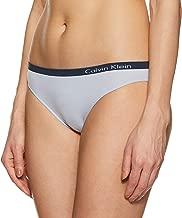 Calvin Klein Women's Plain Stretch Mid-Rise Solid Bikini Brief