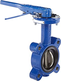 LianDu 2 Butterfly Valve Stainless Steel 304 Sanitary Tri Clamp Butterfly Valve with Trigger Handle and Thread End