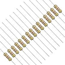 BOJACK Single Resistor 47K Ohm Resistors, 1/2 W, ±5% (Pack of 200pcs)