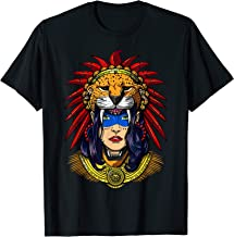 Aztec Jaguar Warrior Native Mexican Mayan Princess T-Shirt