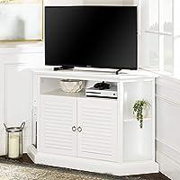 Walker Edison 52-inch Wood Corner TV Stand Console Deals