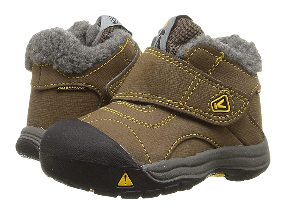 Keen Kids Kootenay WP (Toddler) (Dark Earth/Spectra) Kids Shoes