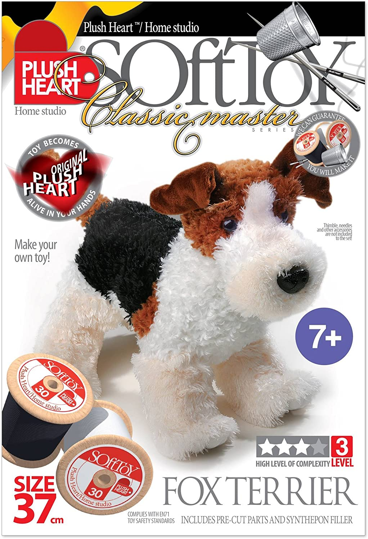 Plush Hearts 37 cm DIY Standing Dog
