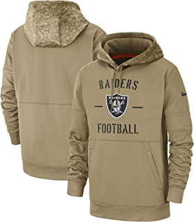 Men's 2019 Salute to Service Sideline Therma Pullover Hoodie
