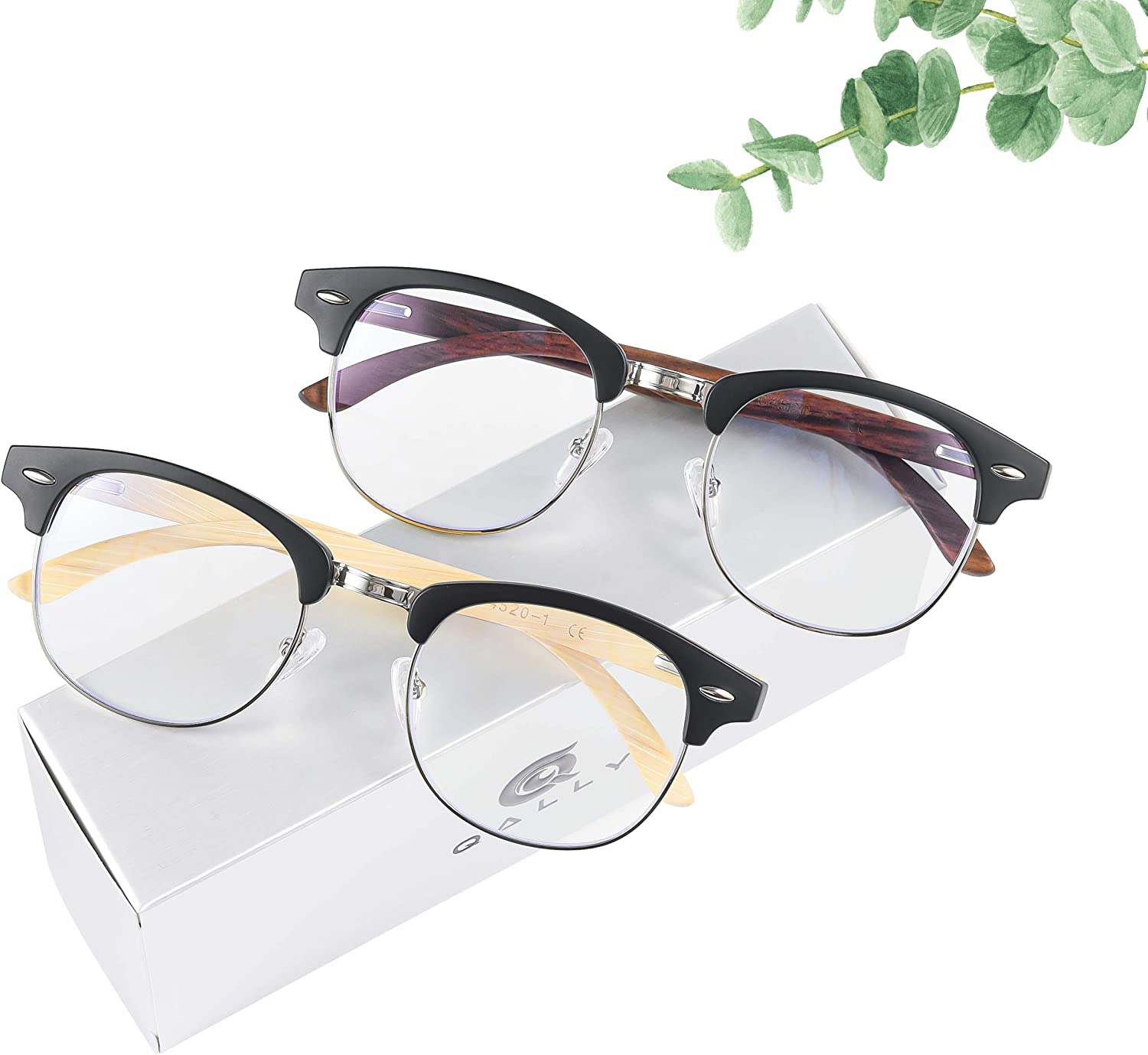Wood Blue Light Blocking Glasses for Max 85% OFF Computer Men Women Louisville-Jefferson County Mall E Gaming