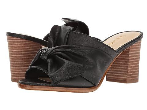 Sandals Nine West Byron Black Leather