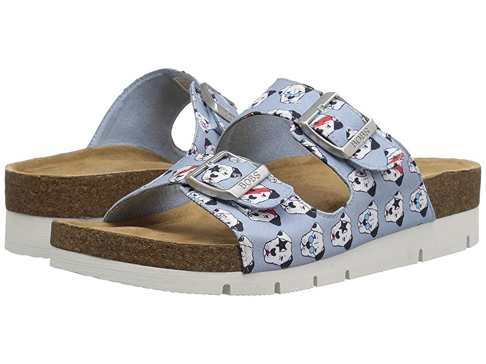 BOBS from SKECHERS Bobs Bohemian Star Pup (Light Blue) Women