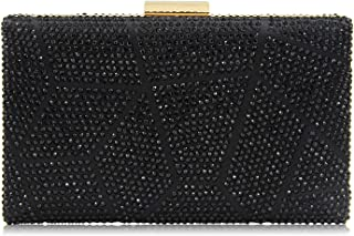Yekajlin Clutches for Women Rhinestone Glitter Clutch Purse Evening Bag